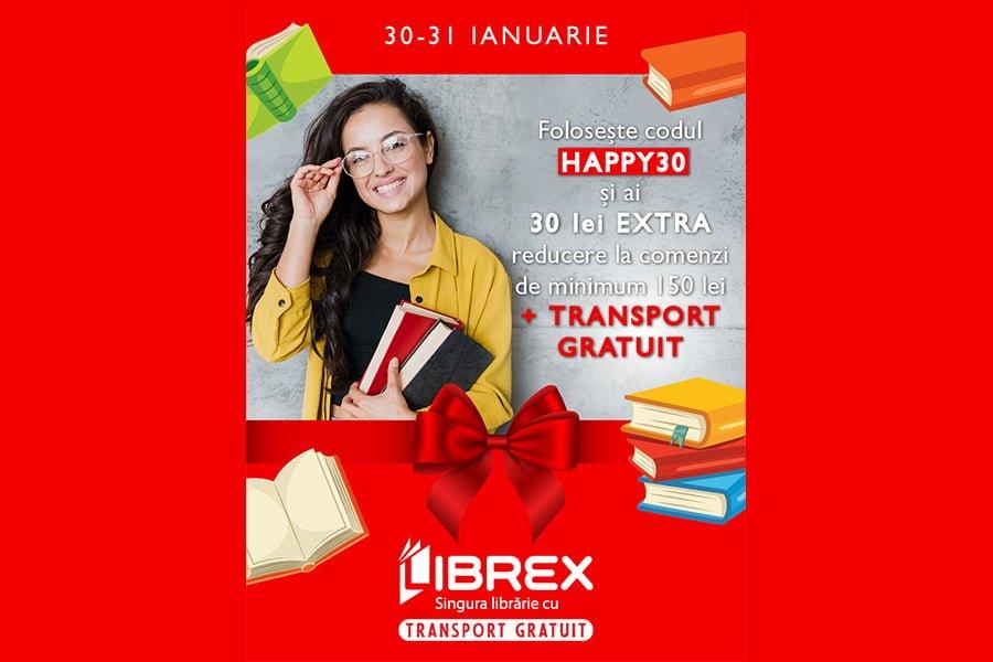 Cod reducere Librex - 30 de lei reducere + transport gratuit