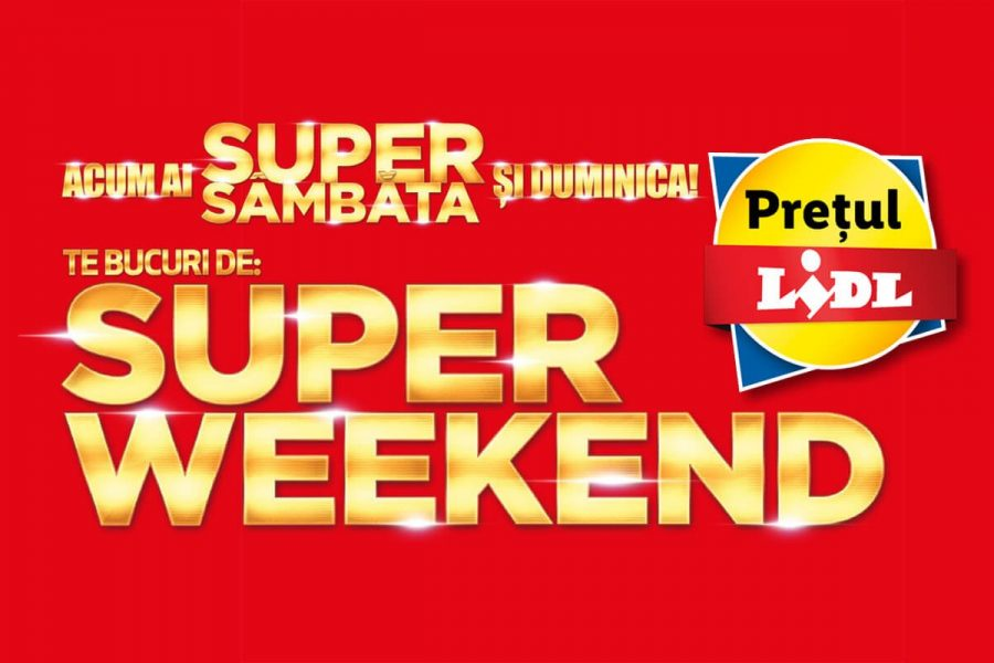 Super Weekend Lidl 12 iunie - 13 iunie 2021 Super Sambata si Duminica la Lidl