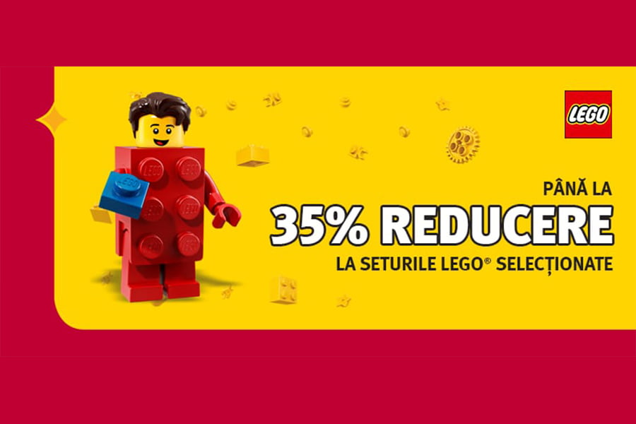 Oferta Altex - Pana la 35% reducere la seturile Lego selectionate