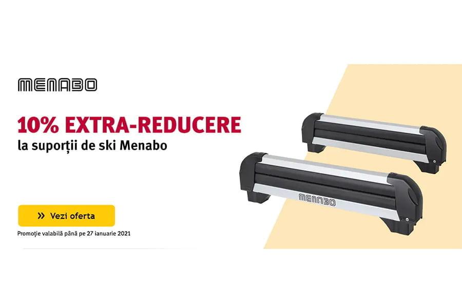 Voucher Altex - 10% extra reducere la suportii de ski Menabo