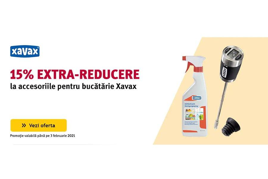 Cod reducere Altex - 15% extra reducere la accesoriile pentru bucatarie Xavax