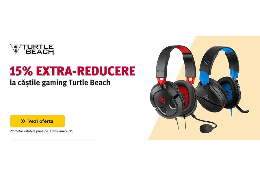Cod reducere Altex - 15% extra reducere la castile gaming Turtle Beach