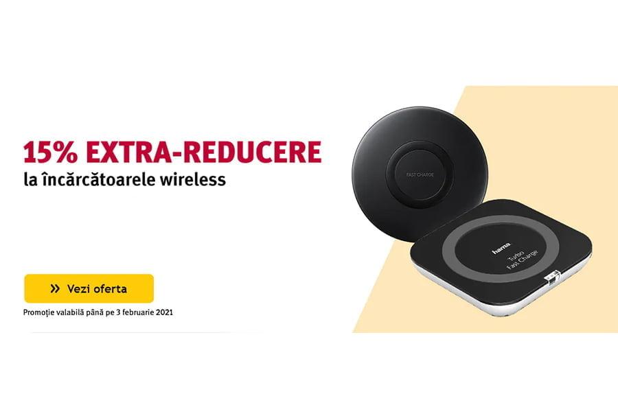 Cod reducere Altex - 15% extra reducere la incarcatoarele wireless