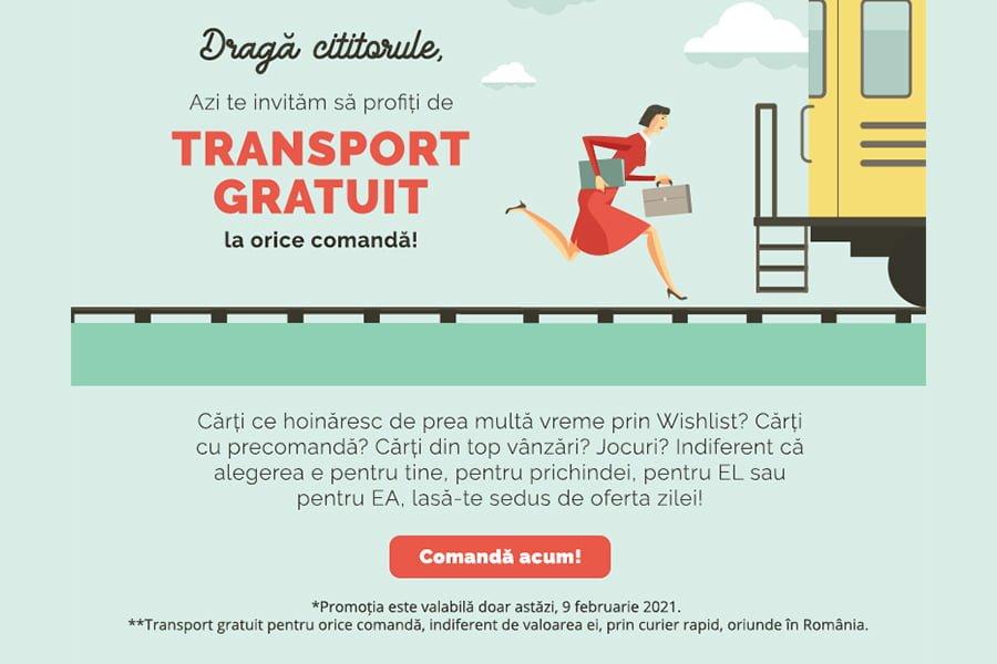 Oferta Libris - Transport gratuit la orice comanda!
