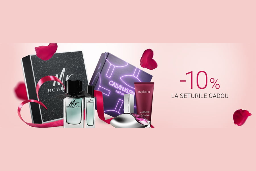 Oferta Notino - 10% reducere la seturile cadou