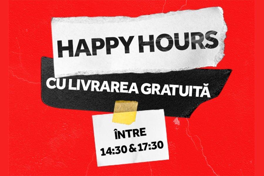 Oferta Tazz - Happy Hours cu livrarea GRATUITA
