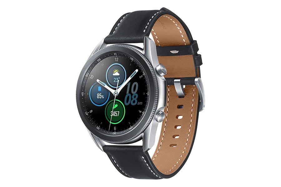 Ceas smartwatch Samsung Galaxy Watch 3 Otel Inoxidabil 45mm Mystic Silver Argintiu