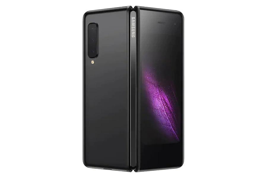 Telefon mobil SAMSUNG Galaxy Fold 512GB LTE 4G Negru Cosmos 12GB RAM