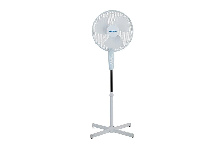 Ventilator cu picior Daewoo DVS1699V, putere 50 W, 40 cm diametru, trei trepte de putere