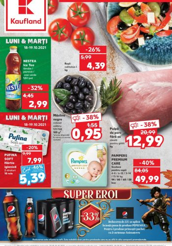 Catalog Kaufland 20 octombrie - 26 octombrie 2021