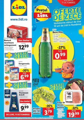 Catalog Lidl 11 octombrie - 17 octombrie 2021